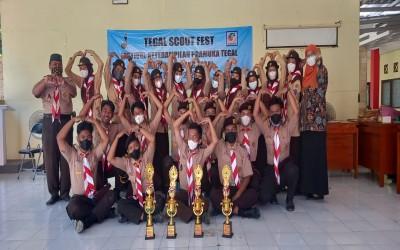 Pramuka MAN 1 Tegal Juara Umum Pramuka Tegal Scout Fest 2021